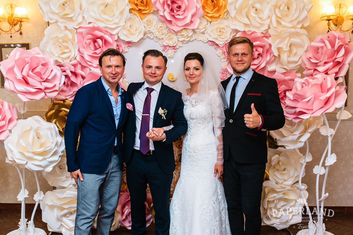 Фотозона на свадьбу в Бресте