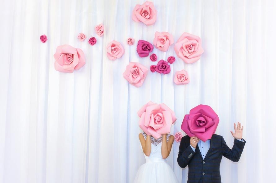 Фотозона на свадьбу в ресторане
