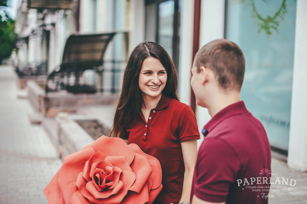 Красивые розы красного цвета