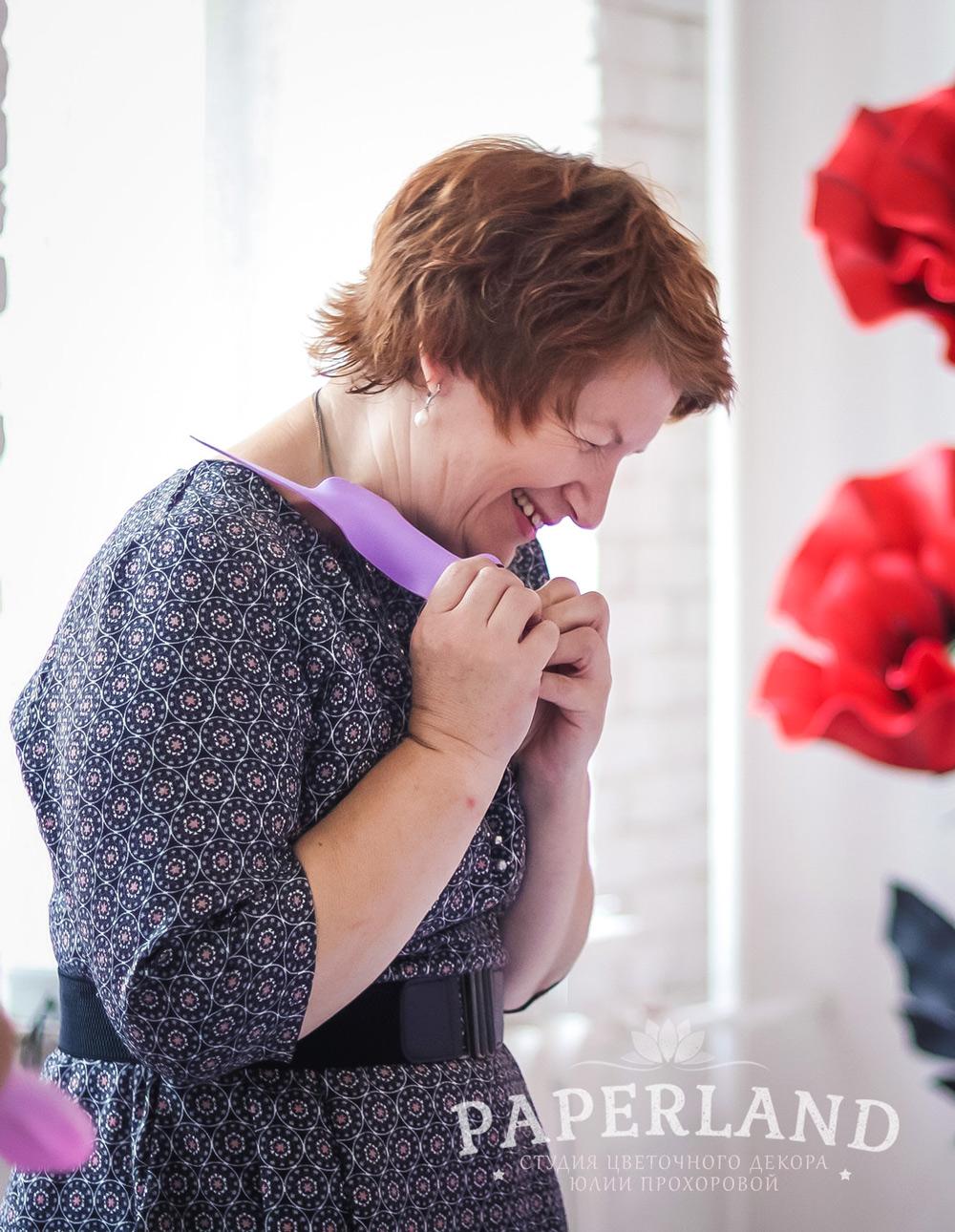 МК по большим цветам в Москве: фотоотчет
