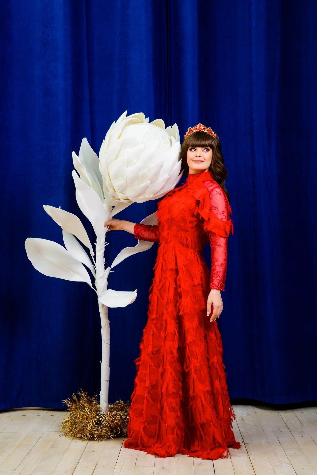 Как флорист из Бреста открыла в Москве студию с гигантскими цветами