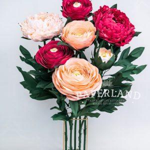 Гигантские цветы для фотосессии
