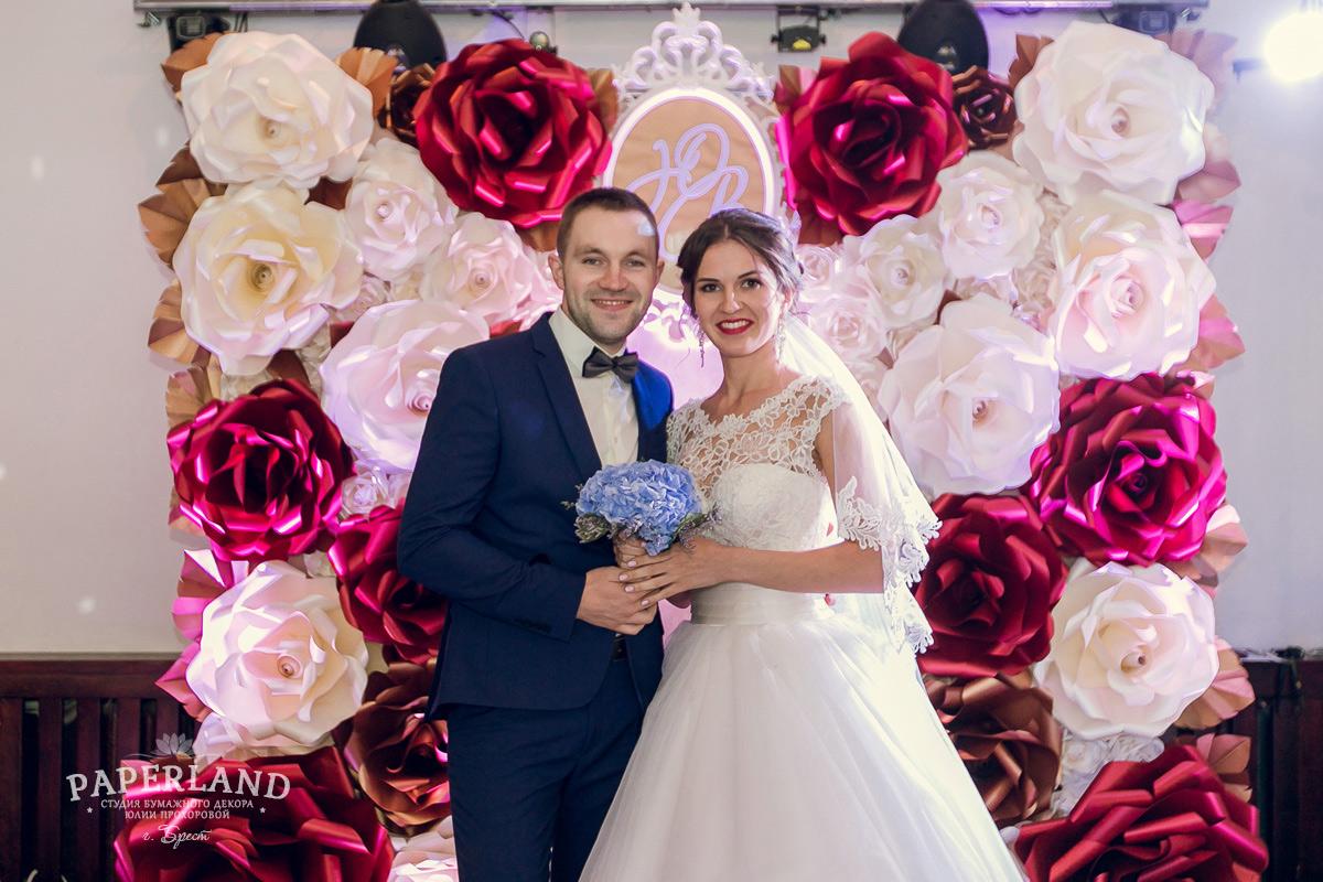 Цветочный декор для свадьбы