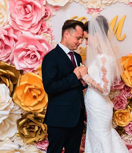 Фотозона для свадьбы в Бресте
